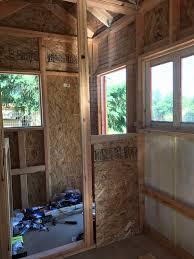 Build A Frame House Chicken Coop Center Door Roosts Light U2013 Yellow Cottage Homestead