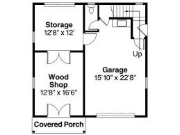 Garage And Shop Plans Garage Workshop Plans One Car Garage Workshop Plan With Storage
