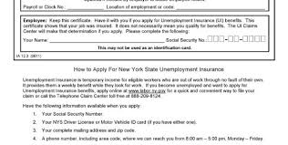 new york record of employment ia12 3 pdf template form inside