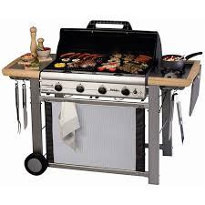 cuisiner avec barbecue a gaz campingaz barbecue à gaz adelaide 4 l achat vente