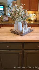 kitchen countertop decorating ideas best kitchen countertop decor ideas on tray tools