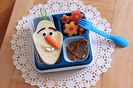 frozen bento box disney family