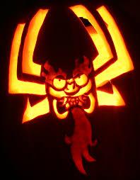 graveyard pumpkin stencil great flaming pumpkin by johwee on deviantart