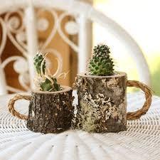 plant pots rustic coffee mug plant holder boss mug boss gift
