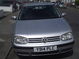 vw golf 2001 manual 1 6 silver hpi clear 1 previous owner full
