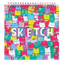 heya colour pop sketch notebook smiggle uk