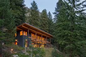 modern cabin design chechaquo cabin natural modern mountain cabin design