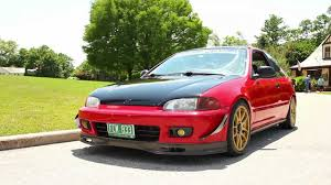 custom honda hatchback real drivers honda civic hatchback b20 powered youtube