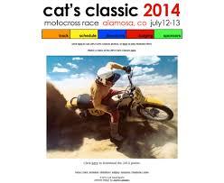 motocross race schedule 2014 cat u0027s classic chromakit