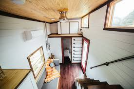 Tiny House Living Room by The Chimera U2014 Wind River Tiny Homes