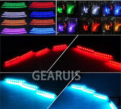 Led Strip For Car Interior Car Rgb 7 Colors Led Strip Light Music Control Led Strip Lights 18