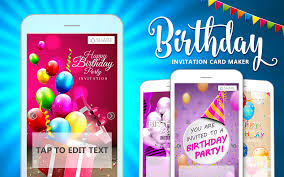 How To Make Birthday Invitation Cards At Home Birthday Invitation Card Maker Android Apps On Google Play
