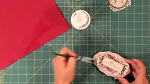 how to make holiday vintage decoupage ornaments youtube