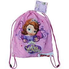 disney sofia book bag big