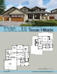 story tuscan house plan texas hillside