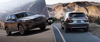 Cx 9 Redesign 2016 Mazda Cx 5 Vs 2016 Mazda Cx 9