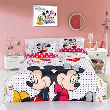 Pink Minnie Mouse Bedroom Decor Mickey Mouse And Minnie Mouse Bedding All Things Disney