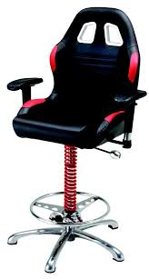 Race Chair Pitstop Bar Stool