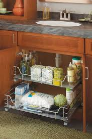 bathroom sink organizer ideas 66 best cabinet organization at lowe s images on