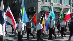 Picture Of Un Flag 2014 Un Flag Raising Ceremony Parade Of Flags Youtube