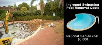 Average Backyard Pool Size The Homeowner U0027s Guide To Swimming Pool Demolition And Removal