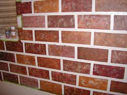 excellent brick wall painting 82 brick wall painting cost create a