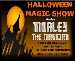 save the date halloween magic show