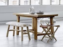 deco scandinave en ligne banc canapé scandinave ethnique bois d u0027orme avec peau de