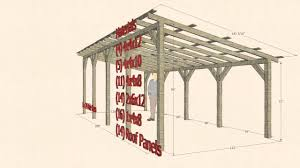 sketchup design 10 x 24 pole barn carport shelter youtube