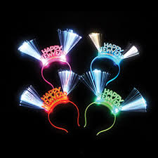 led new years new year tiaras ala carte party supplies new year led light up