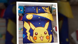 Pikachu Comforter Set Omg The Best Pokemon Bedding Set Ever Pokemon Bedding Set Review