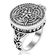 wiccan engagement rings aliexpress buy ezei solomon seal pendant talisman pentacle