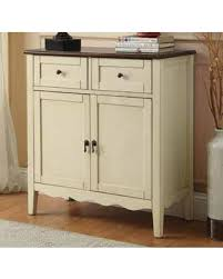 find the best deals on two tone white finish wood hall console