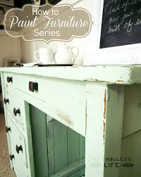 craftaholics anonymous how to paint furniture part 2