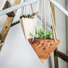 Geometric Hanging Planter by Home Decor Fernweh Woodworking