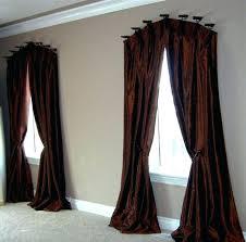 Curtain Rods Target Curtain Rods Target Curved Drapery Rod For Windows Bay