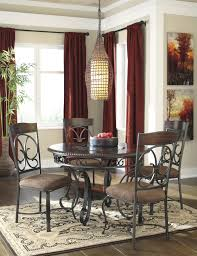 Round Dining Room Sets Signature Design By Ashley Glambrey Round Dining Table And 4 Chair
