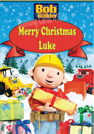 personalised bob builder christmas card 1