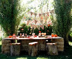 halloween party table ideas fall party table decoration ideas outdoor homemade party decoration