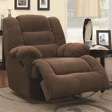 brown fabric glider recliner steal a sofa furniture outlet los
