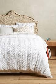 Anthropologie Duvet Covers Best 25 White Duvet Ideas On Pinterest White Bed Comforters