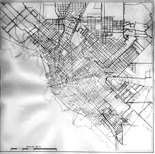 Map Of Dallas Area by Rural Delivery Route Map Of Downtown Dallas Area Circa 1924