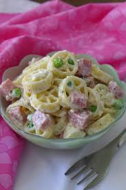 Mexican Pasta Salad Creamy Mexican Pasta Salad Nibbles And Feasts