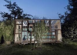 in bureau la fabrique pavilion of recycled windows by bureau a