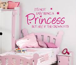 compare prices on bedroom stickers quotes online shopping buy low its not easy being a princess girls wall art sticker quote children bedroom wall decals 3