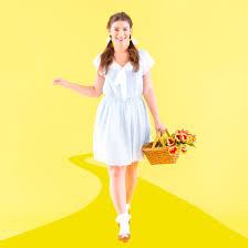 dorothy costume journey the yellow brick road with this diy dorothy costume
