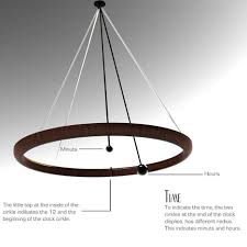 Alarm Clock With Light On Ceiling Minimalist Clock Brings Peace And Elegance To The Bedroom