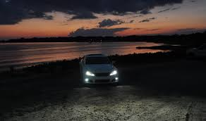 2014 lexus isf looking sublime for sunset photo shoot on the bayou