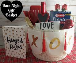 date basket dinner for two date gift basket