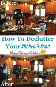 how to an island for your kitchen how to declutter your kitchen island and keep it that way